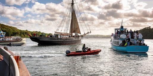 Schiffsfahrten auf den Flüssen von Cornwall