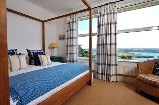 Hotel mit Meerblick in Cornwall