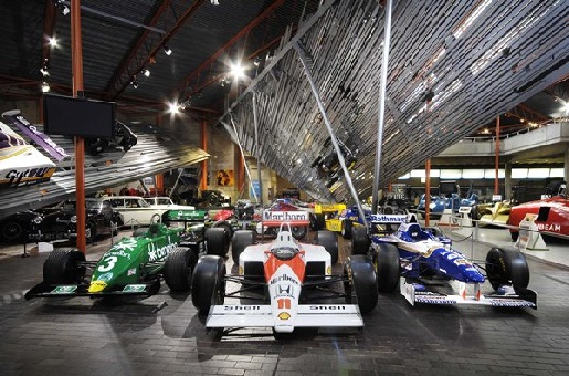 Formel 1 Autos in Beaulieu Motor Museum