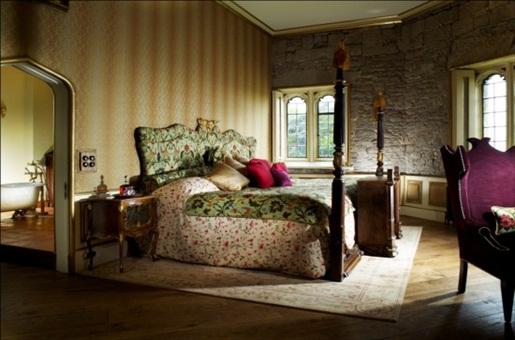 Thornbury Castle Schlafzimmer