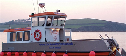 Rock und Padstow Water Taxi