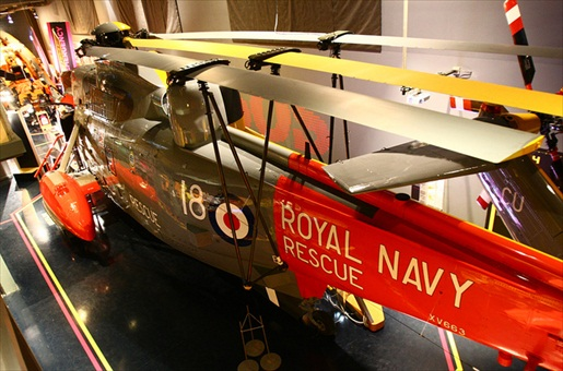 Sea King-Hubschrauber, NationalMaritime Museum, Falmouth, Cornwall