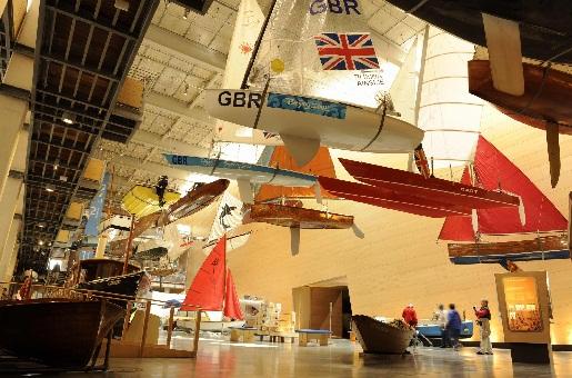 National Maritime Museum, Falmouth, Cornwall