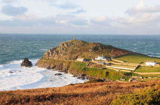 Küsten von Cornwall