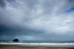 Regnerischen Tag Cornwall