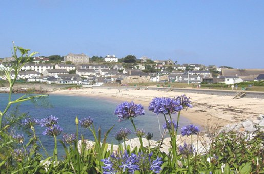 Porthcressa Beach St Marys Scilly Inseln