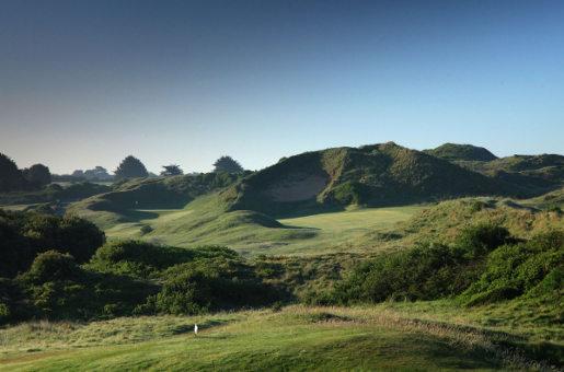 St Enodoc Golfplatz an Cornwalls Nordküste