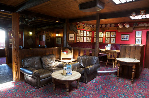 Gemütliche Bar und Restaurant scilly-inslen