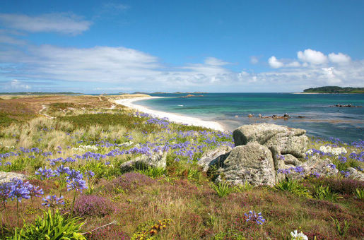 Scilly-Inseln Strand