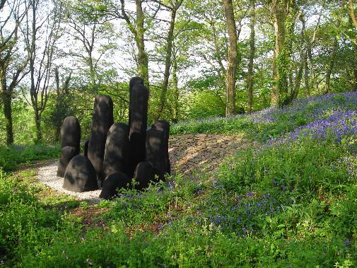 David Nash Black Mound