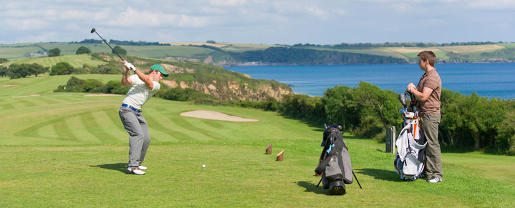 Golfen in Cornwall