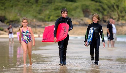 St Ives mit Kindern