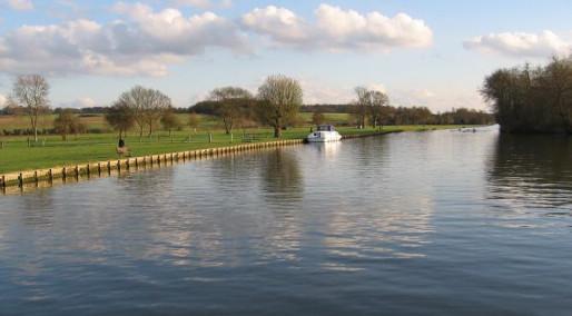 Wandern Thames Flusses