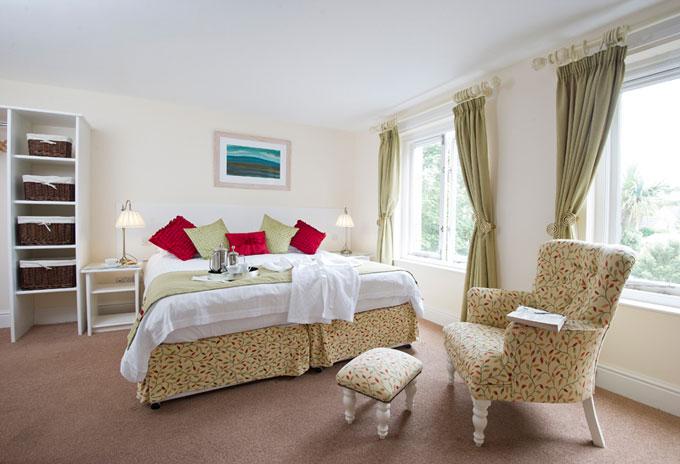 Schlafzimmer St Marys hall hotel