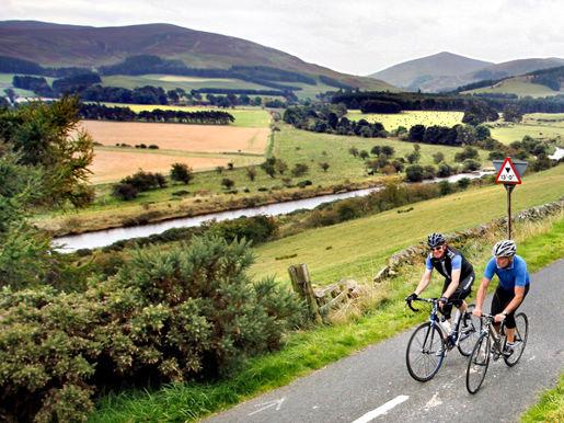 Radfahren Schottland