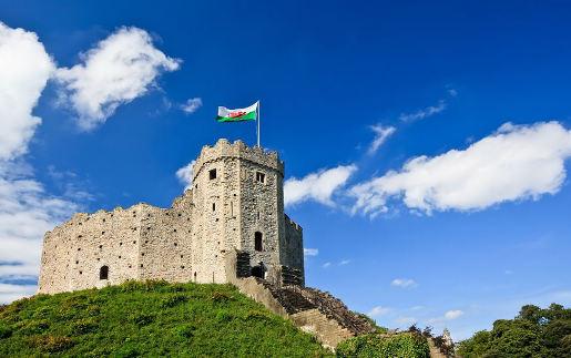 Cardiff Schloss