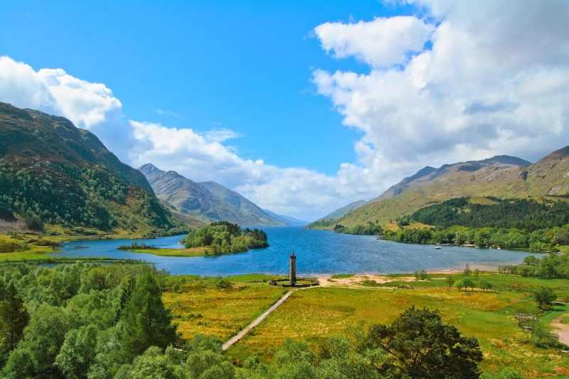 ferienhaus Highlands Schottland