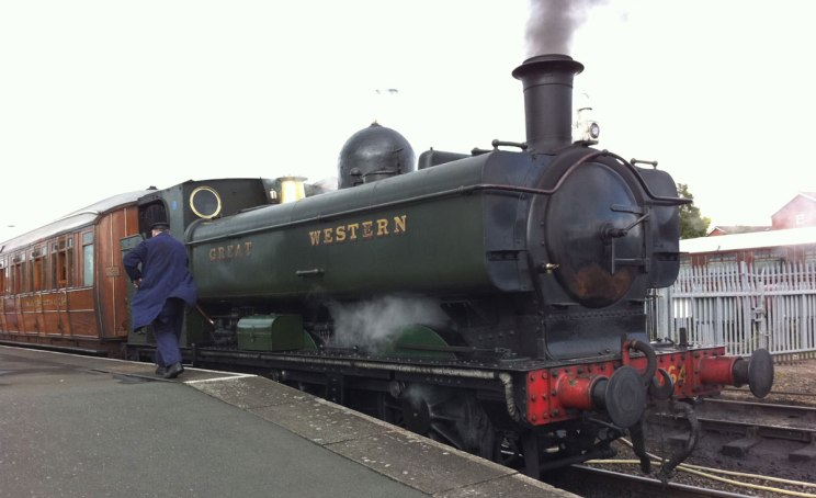 Dampflokomotiven England