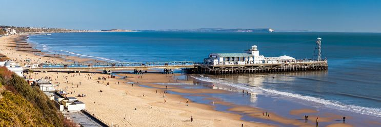 Bournemouth plage