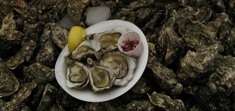 Whitstable Meeresdelikatessen können in Restaurants