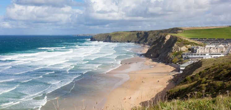 Watergate bay hotels am meer meerblick strand