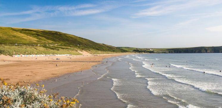 woolacombe strand