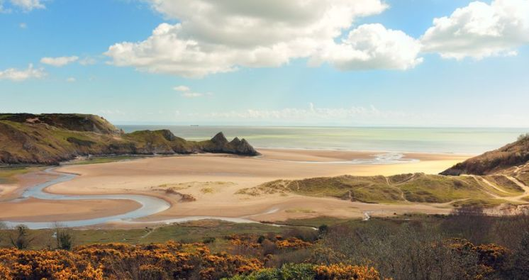 rundreise swansea gower halbinsel