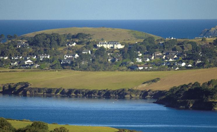 hotel Porthcothan Bay meerblick am meer
