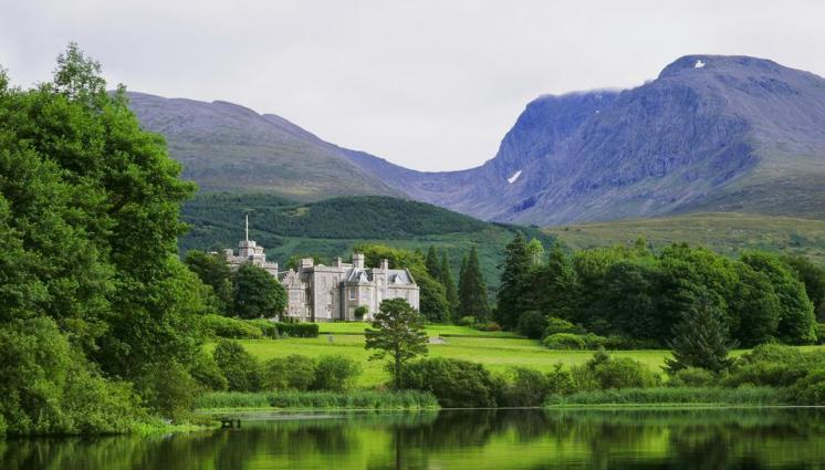 Schlosshotel schottland england irland