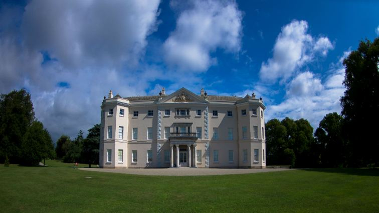 Saltram House national trust devon urlaub