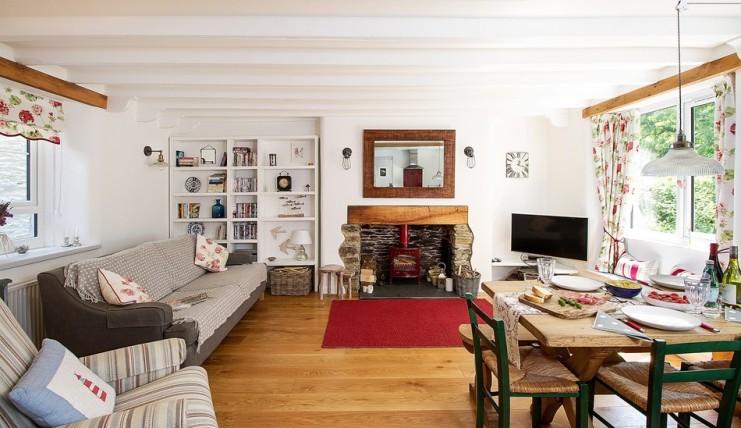urlaub s dengland ferienhaus am meer dartmouth s d. Black Bedroom Furniture Sets. Home Design Ideas