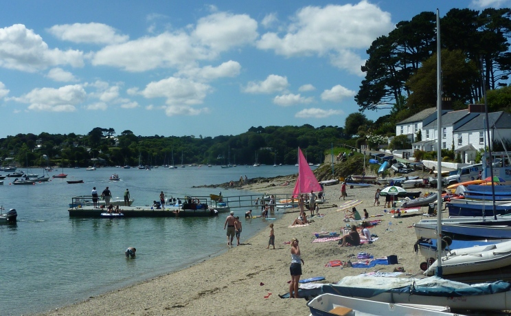Helford Passage strand Falmouth
