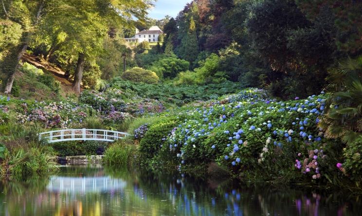Wunderschöne Gärten in Cornwall