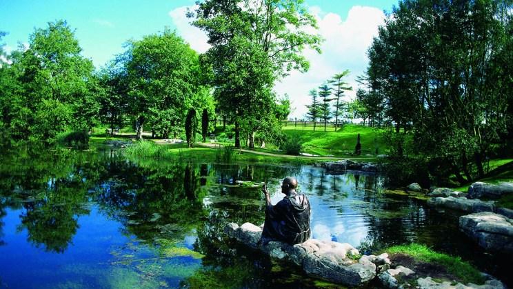 County Kildare Japanischen Gärten national stud