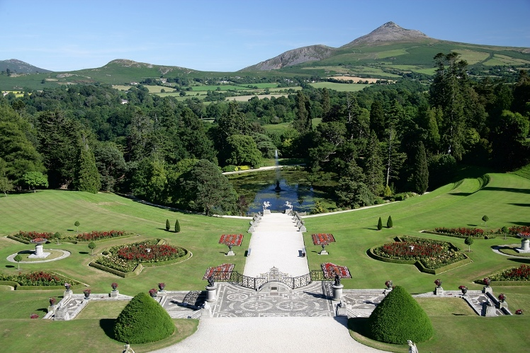Powerscourt Garten County Wicklow irland