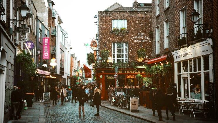 temple bar urlaub dublin irland