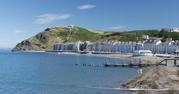 Aberystwyth-Urlaub nordwales
