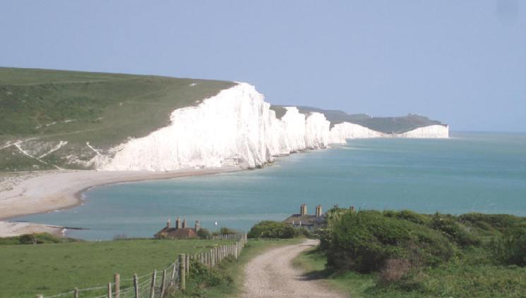 Sussex Küste Birling Gap