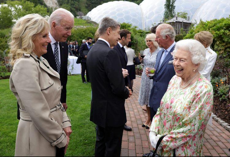 Königin g7 summit eden project